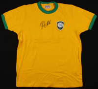 Pele Signed Team Brazil Jersey (JSA ALOA) at PristineAuction.com