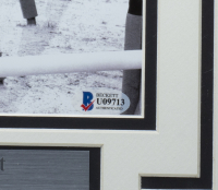 Ron Turcotte Signed 1973 Belmont Stakes 11x14 Custom Framed Photo Display (Beckett COA) at PristineAuction.com