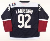 Gabe Landeskog Signed Avalanche Captain Jersey (JSA COA) at PristineAuction.com