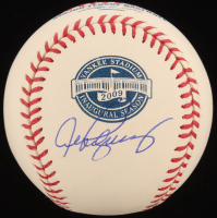 Alex Rodriguez Signed OML 2009 Inaugural Season Logo Baseball (Beckett COA) at PristineAuction.com