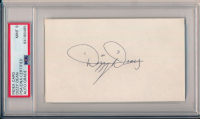 Dizzy Dean Signed 3x5 Index Card (PSA Encapsulated) at PristineAuction.com