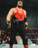 Big Van Vader Signed WWE 8x10 Photo (JSA COA) at PristineAuction.com