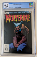 "1982 ""Wolverine"" Issue #3 Marvel Comic Book (CGC 9.2) at PristineAuction.com"