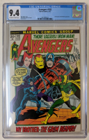 "1972 ""The Avengers"" Issue #102 Marvel Comic Book (CGC 9.4) at PristineAuction.com"