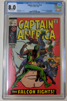 "1969 ""Captain America"" Issue #118 Marvel Comic Book (CGC 8.0) at PristineAuction.com"