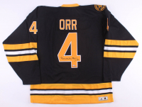 Bobby Orr Signed Bruins Jersey (Fanatics Hologram) at PristineAuction.com