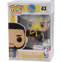 Stephen Curry Signed Warriors #43 LE Funko Pop Vinyl Figure (Fanatics Hologram) at PristineAuction.com