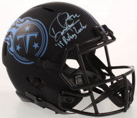 "Derrick Henry Signed Titans Full-Size Eclipse Alternate Speed Helmet Inscribed ""'19 Rushing Leader"" (Beckett COA) at PristineAuction.com"