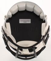 Drew Brees Signed Saints Full-Size Matte White Speed Helmet (Beckett COA) at PristineAuction.com