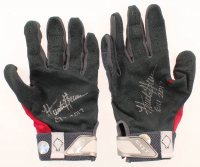 "Pair of (2) Hunter Greene Signed Game-Used Batting Gloves Inscribed ""GU 2017"" (LOJO Hologram) at PristineAuction.com"