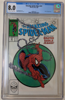 "1988 ""The Amazing Spider-Man"" Issue #301 Marvel Comic Book (CGC 8.0) at PristineAuction.com"