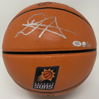 Deandre Ayton Signed LE Suns Logo Basketball (Steiner Hologram) at PristineAuction.com