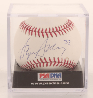Stephen Strasburg Signed OML Baseball with Display Case (PSA COA) at PristineAuction.com