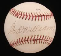 Ted Williams Signed OL Baseball (JSA LOA) at PristineAuction.com