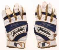 Pair of (2) Ryan Braun Signed Game-Used Batting Gloves (LOJO Hologram) at PristineAuction.com