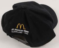 LeBron James & Darius Miles Signed 2003 McDonalds All-Star Jam Dunking Competition Snapback Hat (JSA LOA) at PristineAuction.com