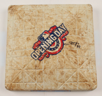 Trevor Story Signed Opening Day Game-Used Base (JSA COA) at PristineAuction.com