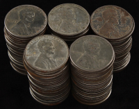 Lot of (100) 1943 Steel Pennies at PristineAuction.com