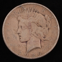 1926-D $1 Peace Silver Dollar at PristineAuction.com