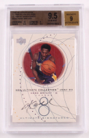 Kobe Bryant 2002-03 Ultimate Collection Signatures #KBS (BGS 9.5) at PristineAuction.com