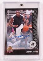 LeBron James 2014 Upper Deck 25th Anniversary Autographs #6 at PristineAuction.com
