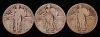 Lot of (3) Standing Liberty Quarters with 1926, & (2) 1927 at PristineAuction.com