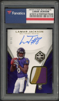 Lamar Jackson 2018 Limited #130 RC (Fanatics Encapsulated) at PristineAuction.com
