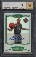 Russell Westbrook 2008-09 Bowman Chrome Refractors #154 (BGS 9 - Auto Grade 10) at PristineAuction.com