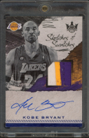 Kobe Bryant 2017-18 Court Kings Sketches and Swatches Prime #2 at PristineAuction.com