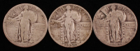 Lot of (3) Standing Liberty Quarters with 1927 & 1930-S at PristineAuction.com