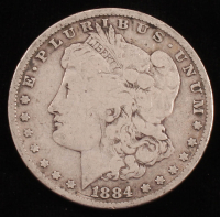 1884 Morgan Silver Dollar at PristineAuction.com