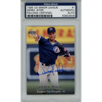 Derek Jeter Signed 1995 Upper Deck Minors #1 (PSA Encapsulated) at PristineAuction.com