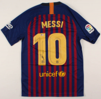 "Lionel Messi Signed Barcelona Jersey Inscribed ""Leo"" (Beckett COA) at PristineAuction.com"