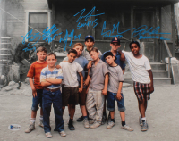 """The Sandlot"" 11x14 Photo Cast-Signed by (6) with Tom Guiry, Marty York, Shane Obedzinski, Victor DiMattia, Chauncey Leopard & Brandon Adams with Multiple Character Inscriptions (Beckett COA) at PristineAuction.com"