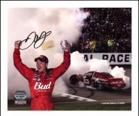 Dale Earnhardt Jr. Signed LE NASCAR 8x10 Photo (Mounted Memories Hologram) at PristineAuction.com
