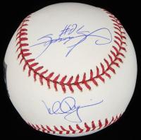 Mark McGwire & Sammy Sosa Signed OML Baseball (Steiner COA & MLB Hologram & Online Authentics Hologram) at PristineAuction.com