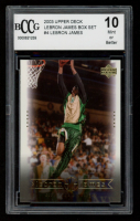 LeBron James 2003 Upper Deck LeBron James Box Set #4 (BCCG 10) at PristineAuction.com