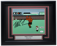 "Mike Tyson Signed ""Punch-Out!!"" 11x14 Custom Framed Photo (JSA COA) at PristineAuction.com"