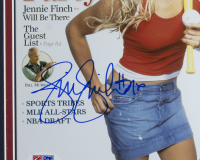 Jennie Finch Signed Team USA 11x14 Custom Framed Photo (PSA COA) at PristineAuction.com