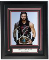 Roman Reigns Signed WWE 11x14 Custom Framed Photo (JSA COA) at PristineAuction.com