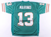 Dan Marino Signed Dolphins Jersey (Mounted Memories Hologram & Marino Hologram) at PristineAuction.com