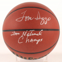 "Tom Izzo Signed NCAA Basketball Inscribed ""2000 National Champs"" (SGC Hologram) at PristineAuction.com"