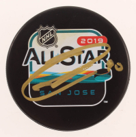 Blake Wheeler Signed 2019 NHL All-Star Game Logo Hockey Puck (Beckett COA) at PristineAuction.com