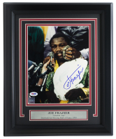 Joe Frazier Signed 11x14 Custom Framed Photo (PSA COA) at PristineAuction.com