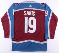 "Joe Sakic Signed Avalanche Jersey Inscribed ""HOF 12"" (Beckett COA) at PristineAuction.com"