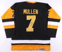 "Joe Mullen Signed Penguins Jersey Inscribed ""HOF 2000"" (Beckett COA) at PristineAuction.com"