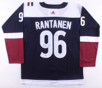 Mikko Rantanen Signed Avalanche Jersey (Beckett COA) at PristineAuction.com