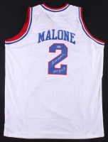 "Moses Malone Signed 76ers Jersey Inscribed ""2001 HOF"" (SGC COA) at PristineAuction.com"