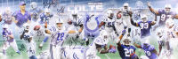 2006 Colts Super Bowl Champions 12x36 Photo Signed By (27) With Peyton Manning, Marvin Harrison, Reggie Wayne, Robert Mathis, Dwight Freeney (JSA LOA) at PristineAuction.com