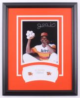 J.R. Richard Signed Astros 16x20 Custom Framed Photo Display (JSA Hologram) at PristineAuction.com